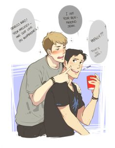 """I think drunk Jean is silly Jean. Imagine all the things he'll blurt out. """"Hey Jean, why do you think Marco actually likes you?"""" """"Because I got a cute ass - duh ~ He said so, he LOVES me AND my cute round ass ~"""" …I'm done."""