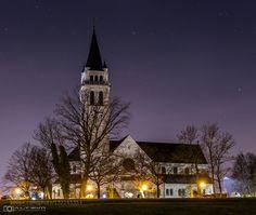 Church in Romanshorn - Pinned by Mak Khalaf City and Architecture bodenseechurchromanshorn by Altrim