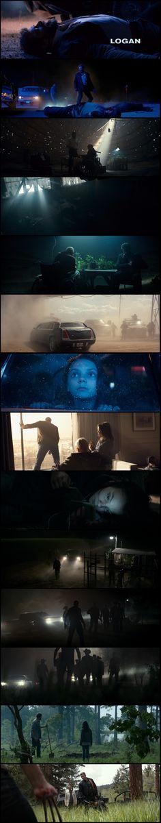 Logan (2017) Director: James Mangold. Photography: John Mathieson.