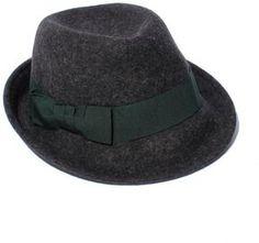 Deep Green ribbon hat / Shopstyle (ショップスタイル): ANAYI 【import】フェルト
