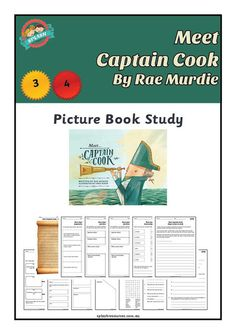 Book Study: Meet Captain Cook by Rae Murdie & Chris Nixon – Splash Resources Primary History, Teaching History, Teaching Resources, Teaching Ideas, Sequencing Activities, Reading Activities, Persuasive Text, Mystery Of History, History Mysteries