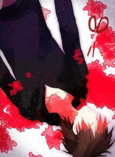 Yuki after his interrogation