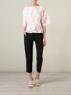 Chloé Cropped Trousers - O' - Farfetch.com