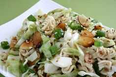 Chinese Cabbage Salad --- skinny-fied.