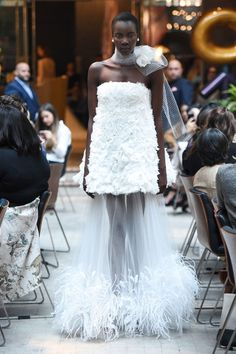 View the complete Spring 2018 bridal collection from Sachin & Babi.