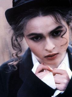 Helena Bonham Carter. Any one who could marry Tim Burton,have the courage to wear the clothes that she wears and  have such a great acting ability without formal training, is worthy of respect. Just my opinion of course.