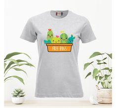 Tshirt.no HERRE | Våre design Free Hugs, Mens Tops, T Shirt, Design, Supreme T Shirt, Tee Shirt, Tee