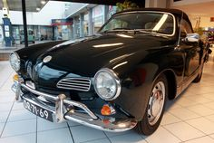The Karmann Ghia was a surprisingly popular experiment for VW. The sporty coupe was built largely from the existing Beetle model, but featured bodywork by Italian designer Ghia and German coachbuilder Karmann.   - Esquire.com