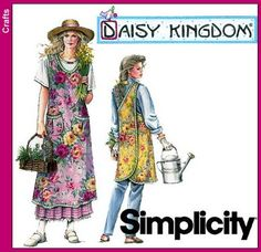 Purchase Simplicity 7481 Daisy Kingdom Crafts -- Apron and read its pattern reviews. Find other sewing patterns.