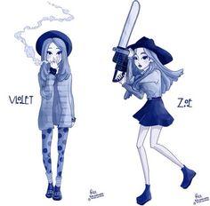team violet or team zoe ¿?