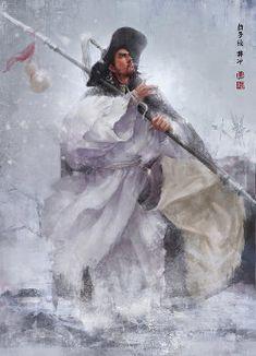 《水浒传》——张墨一 天雄星-豹子头-林冲
