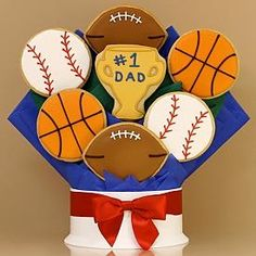Resultado de imagen para galletas i love dad