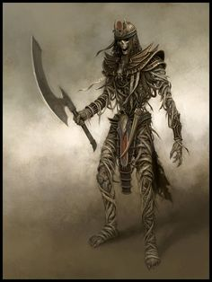 Tomb Guard - EA Mythic, © Games Workshop