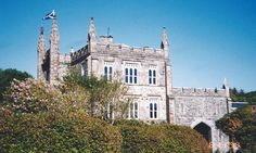 McAlister Clan headquarters, Glenbarr Abbey, Kintyre Peninsula, Argyle, Scotland.  1999