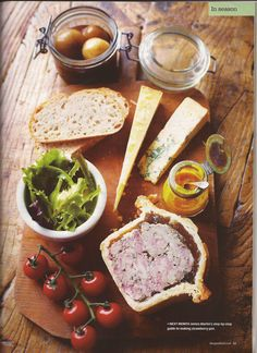 Deconstructed Ploughmans… Good Food, May 2013: James Martin's pub lunch classics