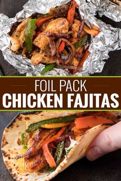 28 Hobo Foil Packet Dinner Recipes Perfect for Home or Camping - Sincerely Kale Foil packet meals are such a great option when you're low on time. Enjoy one of these 28 hobo foil packet dinner recipes tonight! Healthy Recipes, Mexican Food Recipes, Dinner Recipes, Cooking Recipes, Healthy Meals, Camping Food Recipes, Grilled Dinner Ideas, Healthy Food, Cooking Pork