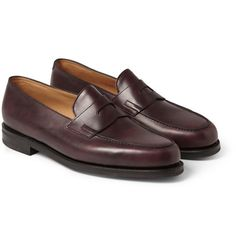 MR PORTER offers Designer shoes, boots and sneakers from over 350 designers. Shop online for men's loafers from the world's best brands on MR PORTER Mens Designer Loafers, Designer Shoes, Loafer Shoes, Loafers Men, Men S Shoes, Penny Loafers, Best Brand, Leather Men, Oxford Shoes