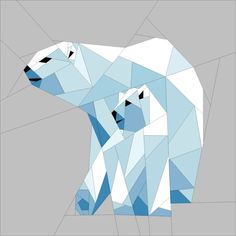 Looking for your next project? You're going to love Icy Polar Bears by designer JaneenVN. - via @Craftsy