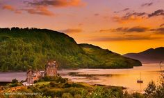 Eilean Donan Castle The palette of colours on a warm summer's evening in the highlands always just leaves me in awe..........