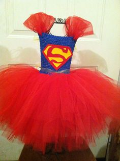Custom Made Superman Tutu Dress by TwinkleSuperior on Etsy, $40.00
