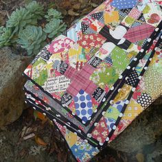 japanese x and + binding | by Cabbage Quilts