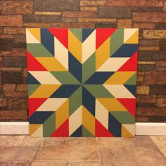 Barn Quilt by Janice R Cox Two By Two - Barn Quilts