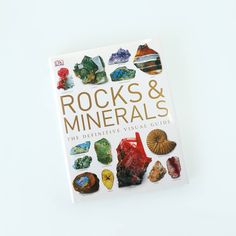 Rocks & Minerals  A remarkable study of the Earth's rocks, minerals, gems and fossils, this stunning volume reveals the beauty and wonder of these outstanding natural phenomena and the fascinating ways they have been prized and used. ✨ - by Ronald Louis Bonewitz