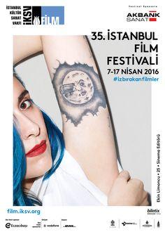 Istanbul Film Festivali 2016 #festival #affiche #affichefestival https://fr.pinterest.com/igreka2n/festival/