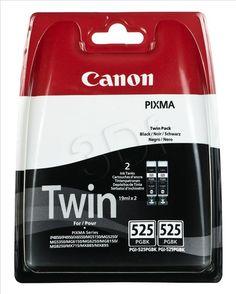 TUSZ MULTIPACK CANON PGI-525 TWIN (DO DRUKARKI CANON, ORYGINAŁ 4529B010 700STR. CZARNY)