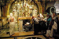 Jerusalem, Church of the Holy Sepulchre, Golgotha