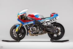 Another angle on the amazing custom BMW S 1000 RR by PRAËM. We just can't get enough of this bike.