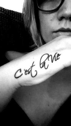 Tatuaggi frasi in francese (Foto 3/25) | PourFemme