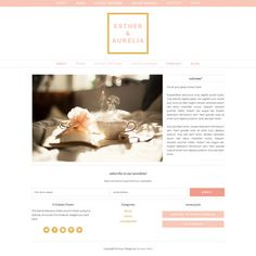 This is a premade website template for SELF-HOSTED WORDPRESS SITES