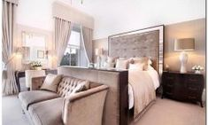 On the market: Michelle Mone has put her luxury Glasgow townhouse up for sale so she can buy her husband out of their dream mansion - Luxury Decor Bedroom Inspirations, Home Bedroom, Bedroom Design, Luxurious Bedrooms, Furniture, Luxury House, Interior Design, Home Decor, House Interior