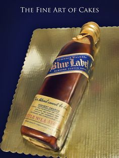 Johnnie Walker Blue Label (10,503) | A custom groom's cake o… | Flickr