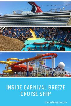 See The Taste Team's experience on Carnival Breeze Cruise Ship on our 5-Day cruise. Full review is on our website!
