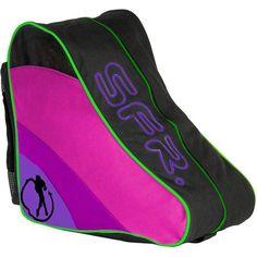 SFR Ice/Inline/Roller Skate Carry Bag - Disco BAG003D Carry bag suitable for ice skates or quad roller skates. (Barcode EAN = 5016978025810). http://www.comparestoreprices.co.uk/december-2016-6/sfr-ice-inline-roller-skate-carry-bag--disco-bag003d.asp