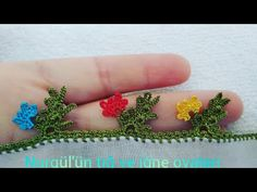 497.TIĞ OYASI İĞNEDEN TIĞA ÇOK HOŞ MODEL - YouTube Baby Knitting Patterns, Diy And Crafts, Crochet Earrings, Flowers, Royal Icing Flowers, Flower, Florals, Floral, Blossoms