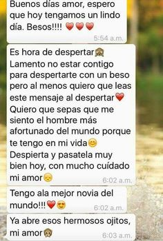 Mensajes amor Sad Love, Cute Love, Relationship Goals Tumblr, Tumblr Love, Love Text, Spanish Quotes, Love Messages, Love Words, Boyfriend Gifts