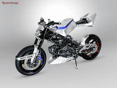 Ros Blu By Ferruccio Codutti #custom #special #motorcycle