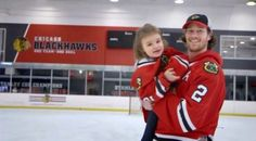 Girl scores possibly the greatest Blackhawks goal ever in team's latest 'What's Your Goal' video | WGN-TV