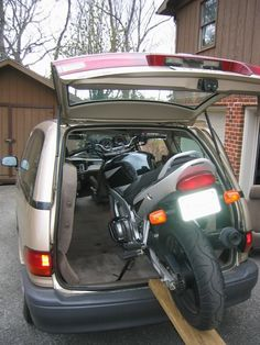 Considering A Previa Would Motorcycle Fit In It