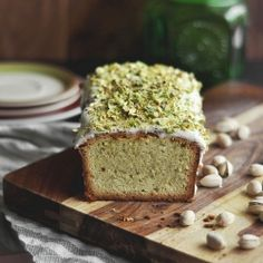 Pistachio Pound Cake by CandidAppetite