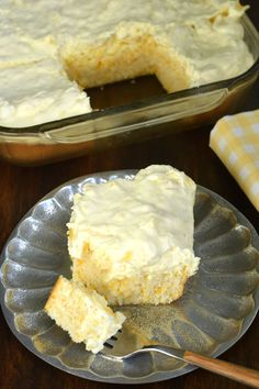 Pineapple Orange Cake Is An Easy, Light Dessert Recipe Thatu0027s Nearly Guilt  Free! Youu0027ll Love The Refreshing, Moist Orange Cake Topped With Creu2026