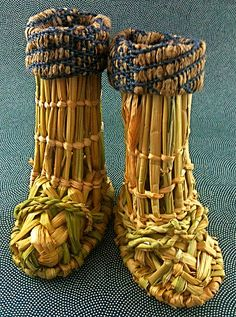 "ミニチュア深靴 Japanese traditional craft ""snow shoes"" by natsuko.m, via Flickr"