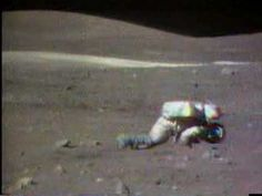 Apollo 16 EVAs 2 (falling down on the Moon) (Space, PBL)