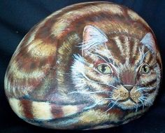 How to paint rocks and pebbles.