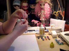 Blythe Customisation Chip Change 2 - YouTube