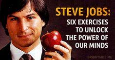 Six super-effective brain exercises developed bySteve Jobs