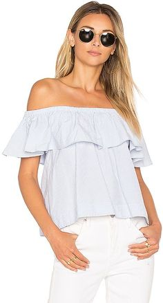 b705e80abe3e40 Embroidered Off The Shoulder Top - Poor Little It Girl